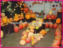 NEW DESIGN-- 2011 Hot-Selling Natural Popular foam pumpkins