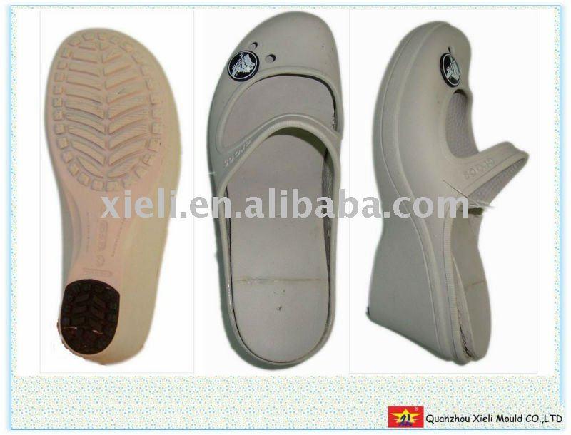 2011 novo senhora eva salto alto da sandália molde