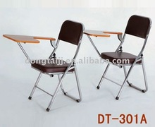 High Back Folding Chair with with study tablet