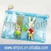 School pvc cartoon pencil bag in lovely printing XYL-S158