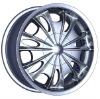 GQ741 4x4 Car Alloy Wheel Rim Chrome