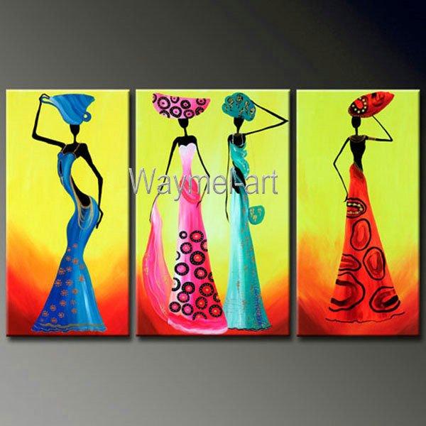 Moderna Abstrata Pintados M O Pintura Em Tela