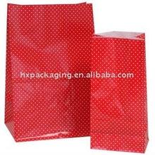 Swiss Dot - Red paper bag