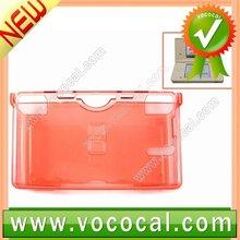 Crystal Case Hard Cover For NDSL Nintendo DS Lite Red