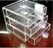 Acrylic 2-tier storage jewelry Drawer