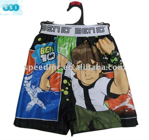 Kids underwear,children's satin boxer, view children's satin boxer