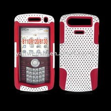 for For Blackberry 8110/8120/8130 Mesh Hybrid cell phone case