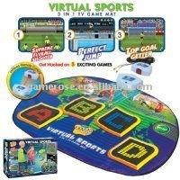 Virtual Sports-3 in 1 TV Game Mat