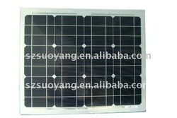 30W Mono Flexible Solar Panel/Module with Aluminum Backsheet