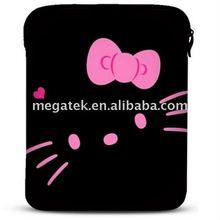 hello kitty Neoprene laptop sleeve case for ipad 2 3 4 air mini, for ipad sleeve air mini ,for ipad case sleeve