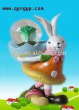 Crystal rabbits snow ball