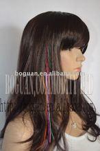 DO It youself feather tip kit hair extension set &brazilian hair