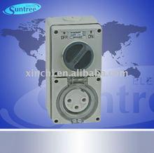 IP66 Waterproof Isolator Switch Plug /Waterproof Socket