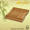 Natural bamboo knife box