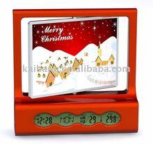 christmas gift/photo frame clock