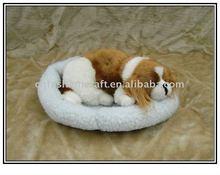 NW2340 Fashion Sleeping dog,simulation animal toy,breathing dog