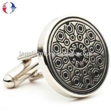 Anti Round Button Cufflinks