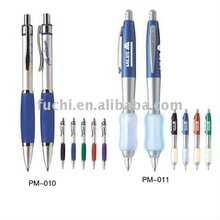 2011 cheap hot plastic ball point pen with customize logo for promotion office and school