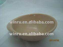 Eggshell shaped bowl