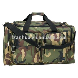 Function Camo Polyester Travel Bag