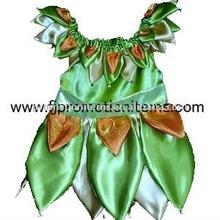 green layer leaves costume halloween for children