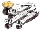 stainless steel measuring spoon set of 4