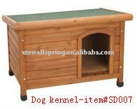 Good quality wooden dog kennel