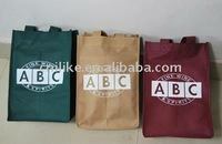 Fashion promotional pp non woven gift bag