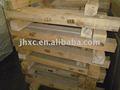 haste de alumínio de paletes de madeira