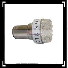 1157 White 19 Led Bulb Car Brake Light Stop(Double Contact)