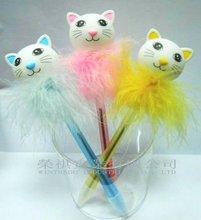 Flashing Cartoon Cat Pen