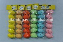 colored easter foam egg hanging