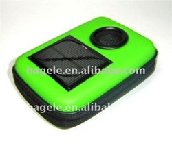 Rechargeable Solar camera bag with speaker