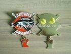 2011 dangler and rhinestone baseball trading pin