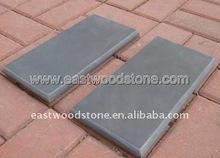 natural black color stone slate tile