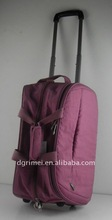 Trolley travel bag and luggage trolley case