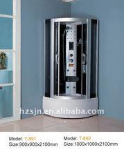 white 5mm luxury shower cabin/shower room