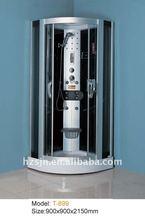 economic luxury 5mm safety glass bathroom shower