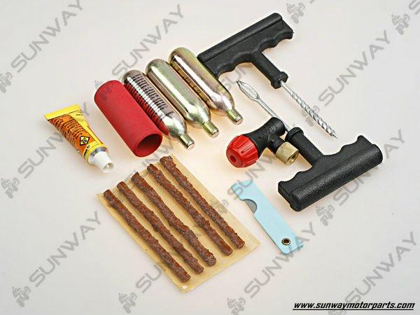 Tire Repare Tool Kit for ATV,Motorcycle,Bicycle, Repair tools