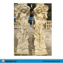 Marble Fairy Statue