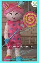 2011 candy girl Plush cartoon costume