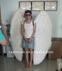 Customized large white feather angel wings