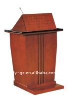 hot sale lecture table/flyfashion podium/pop speech table