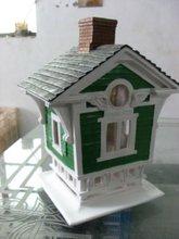 polyresin resin birdhouse