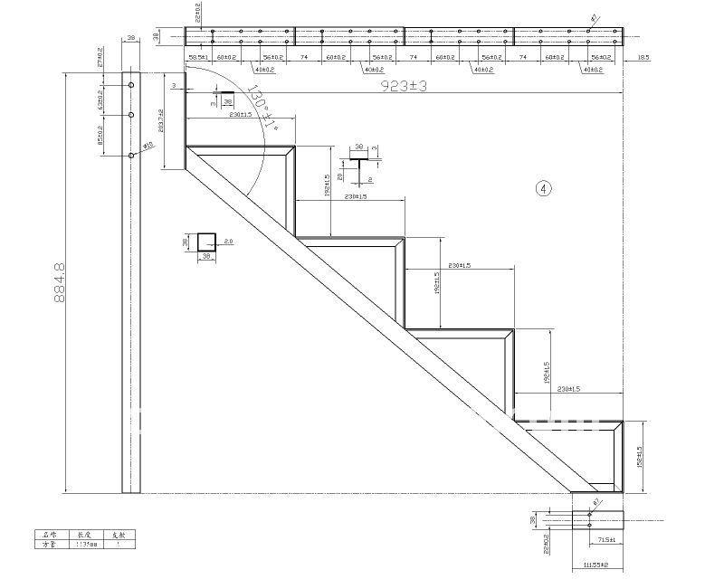 Diff rentes tapes de aluminium escalier cadre pi ces d - Dimensiones escalera de caracol ...