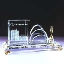 office glass desktop set
