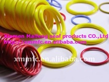 colored silicone o ring with high quality approved NSF61,WRAS,KTW,W270,FDA,ACS,UL