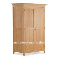 Solid Oak Furniture Wardrobe
