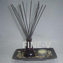 ceramic tray, vanilla reed diffuser, home fragrance, aroma