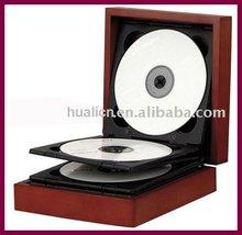 Hot sale wooden MDF DVD/CD box